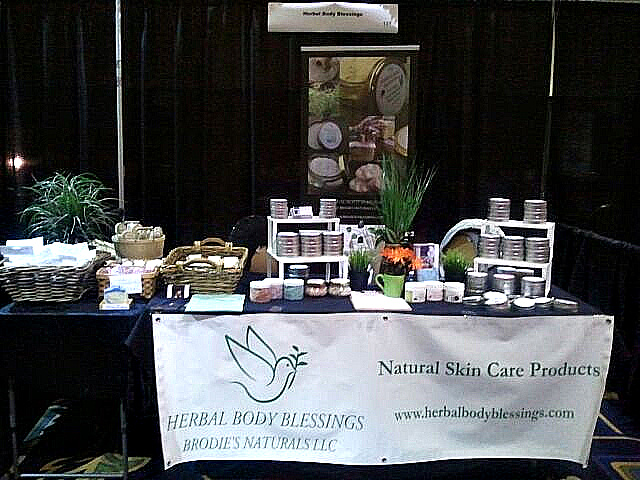 Herbal Body Blessings' booth!